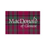 Tartan - MacDonald of Glencoe Rectangle Magnet