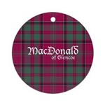 Tartan - MacDonald of Glencoe Ornament (Round)
