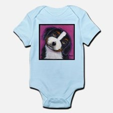 Bernise Mountain Dog Infant Creeper