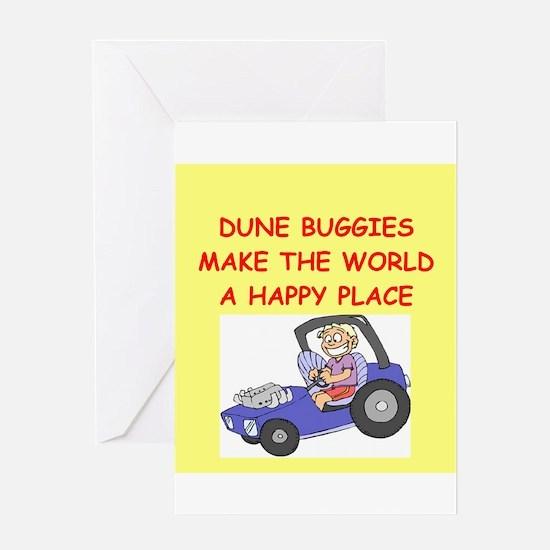 dune buggies Greeting Card