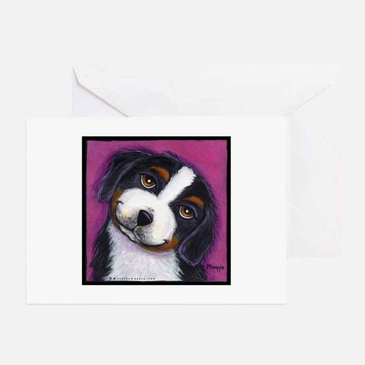 Bernise Mountain Dog Greeting Cards (Pk of 10)