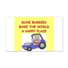 dune buggies 22x14 Wall Peel