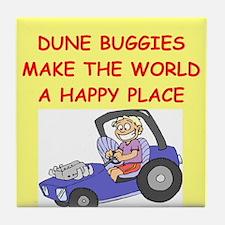 dune buggies Tile Coaster