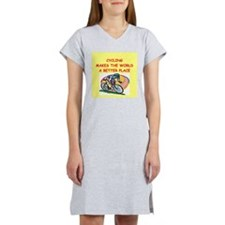 cycling Women's Nightshirt