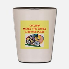cycling Shot Glass