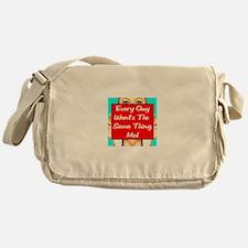Every Guy Wants The Same Thin Messenger Bag