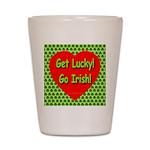 Get Lucky! Go Irish! Shot Glass