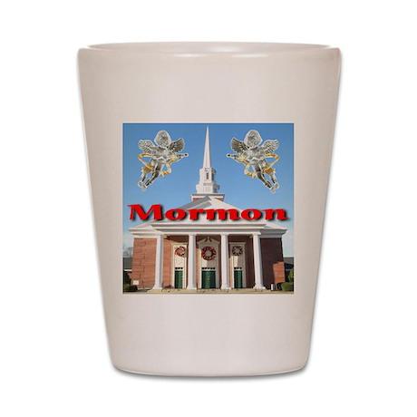 Mormon Shot Glass