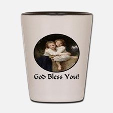 Sisters God Bless You Shot Glass