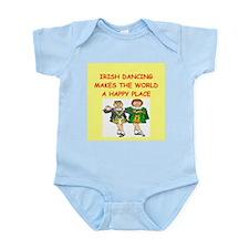 irish dancing Infant Bodysuit
