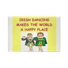 irish dancing Rectangle Magnet