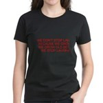 growing old merchandise Women's Dark T-Shirt