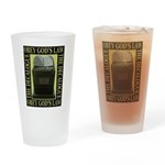 The Ten Commandments Drinking Glass