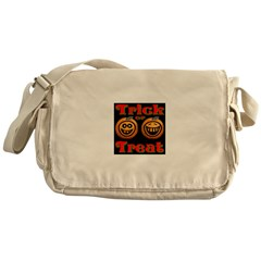Trick or Treat Pumpkins Messenger Bag