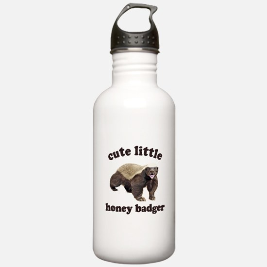 Cute Lil Honey Badger Water Bottle