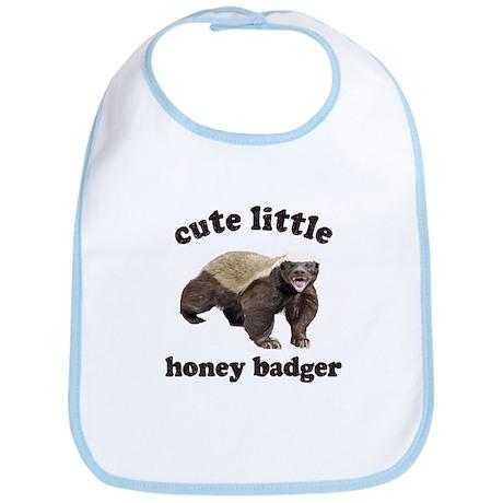 Cute Lil Honey Badger Bib