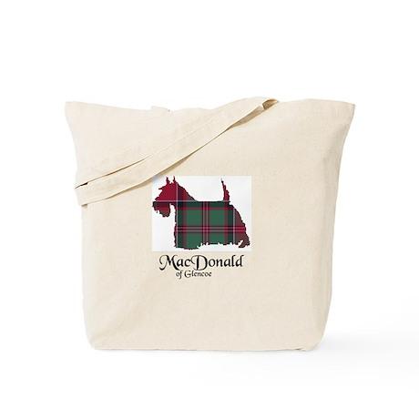 Terrier - MacDonald of Glencoe Tote Bag