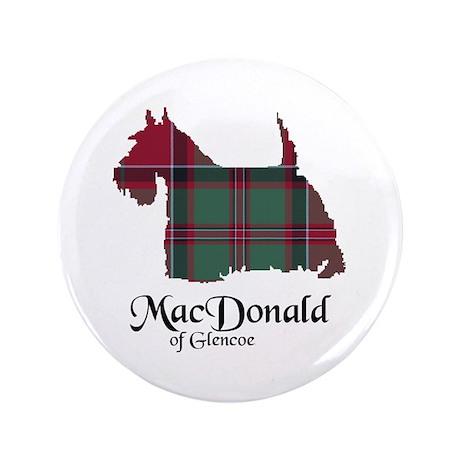 "Terrier - MacDonald of Glencoe 3.5"" Button"