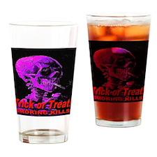 Trick or Treat Smoking Kills! Drinking Glass