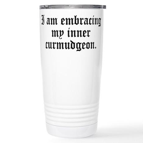Inner Curmudgeon Stainless Steel Travel Mug