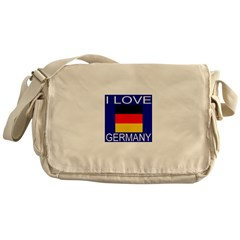 I Love Germany Messenger Bag