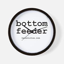 """bottom feeder"" Wall Clock"