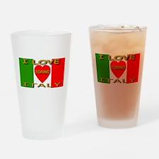 I Love Torino Italy Drinking Glass