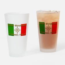 Winter Wonderland Torino Ital Drinking Glass