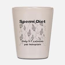 Sperm Diet Shot Glass