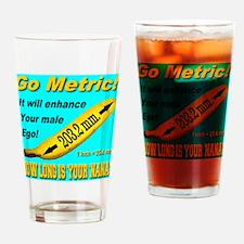 Gp Metric! Drinking Glass