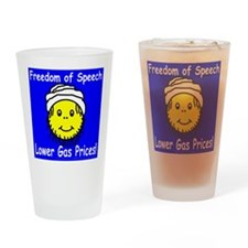 Lower Gas Prices Drinking Glass