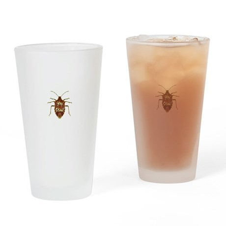 Stink Bug Drinking Glass