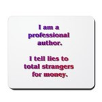 Professional Author Mousepad