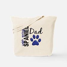 Welsh Springer Spaniel Dad 2 Tote Bag