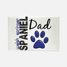 Welsh Springer Spaniel Dad 2 Rectangle Magnet