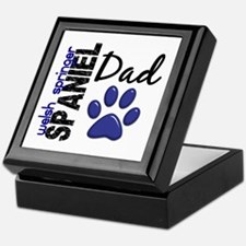 Welsh Springer Spaniel Dad 2 Keepsake Box