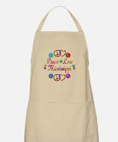 Peace Love Mississippi Apron
