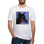 Doberman Fitted T-Shirt