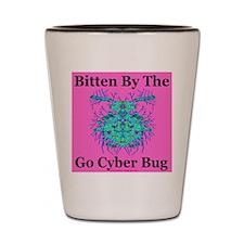 Go Cyber Bug Shot Glass
