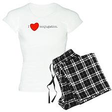 I love conjugation Pajamas