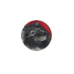 Keeshond Mini Button (10 pack)