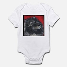 Keeshond Infant Creeper