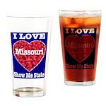 Missouri Drinking Glass
