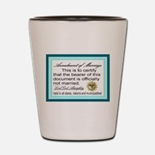 Annulment of Marriage Shot Glass