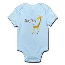 Custom Name Giraffe Onesie