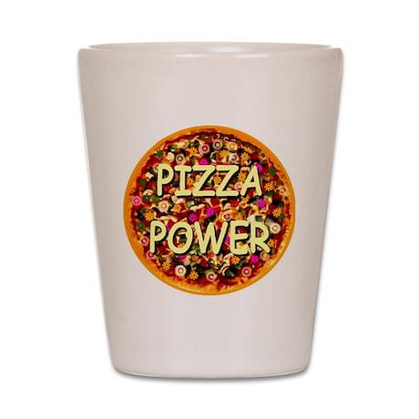 Pizza Power Shot Glass