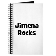 Jimena Rocks Journal