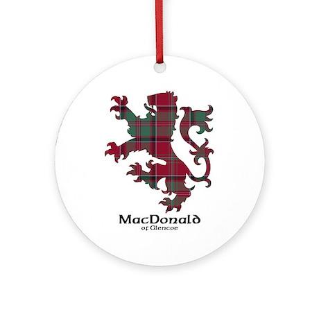 Lion - MacDonald of Glencoe Ornament (Round)