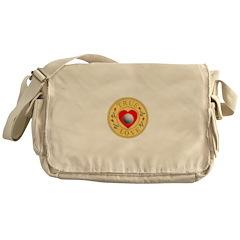 Golf True Love Golden Seal Messenger Bag