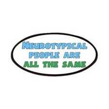 Neurotypical Joke Patches
